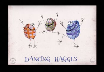 Haggis - Artist Signed Numbered Prints